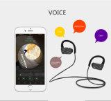 Ipx7 senza fili impermeabilizzano la cuffia avricolare di Bluetooth di sport con l'amo dell'orecchio