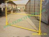 Гальванизированная панель загородки барьера временно