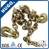 Высокая растяжимая цепь G80 стали сплава 10mm