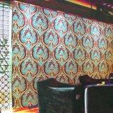 Papel de empapelar decorativo del PVC de la pared interior para KTV/el hotel