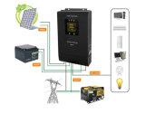 Inverseur hybride 300W d'énergie solaire - 3kw a combiné avec le contrôleur de MPPT