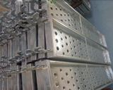 De gegalvaniseerde Plank van het Staal voor de Lopende Raad van het Staal van de Steiger