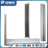 алюминиевый сплав 6063t5 прессовал профиль для рамки панели солнечных батарей