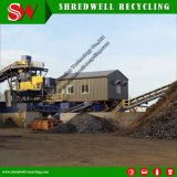 고품질을%s 가진 폐기물 강철 분쇄를 위한 높은 토크 금속 슈레더