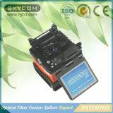 China-heißer Verkaufs-verbindene Maschinen-aus optischen Fasernschmelzverfahrens-Filmklebepresse