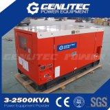 단일 위상 침묵하는 디젤 엔진 발전기 7.5kw (Kubota D1105-BG, Stamford PI044G)