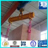 Faisceau mécanique d'écarteur pour le levage de matériau en bloc