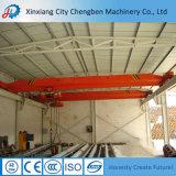 Grúa de puente impulsada por motor eléctrica de la viga de 5 toneladas del taller sola