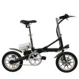 E-Fahrrad/Lithium-Batterie-Laufwerk-faltendes Fahrrad der Aluminiumlegierung-14inch faltendes/Stadt-Fahrrad