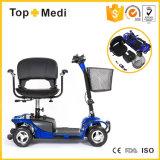 4 scooter facile électrique pliable de mobilité de mouvement de pouvoir invalidé de roue par prix bon marché pour des adultes