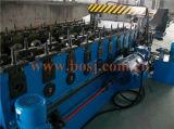 La bandeja de cable galvanizado en caliente de acero perforada con brida de retorno rodillo que forma la máquina fábrica de producción Made in China