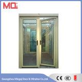 Puerta de entrada de aluminio impermeable del marco