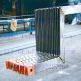 Metalúrgica enlace Ti con revestimiento de cobre barra de distribución de electrodos para Electroobtención