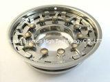 Pezzi meccanici dello stampaggio ad iniezione del metallo per l'anello dell'ugello (aletta)