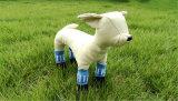 Chaussettes de tricotage d'animal familier d'impression en caoutchouc antidérapante mignonne de pattes
