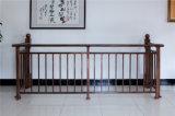 Balcón de acero galvanizado decorativo de alta calidad 22 que cercan con barandilla de la aleación de Haohan Alluminum