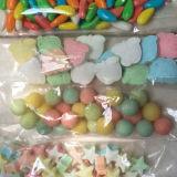 Dragées à la gelée de sucre de couleur d'OEM, sucrerie décorative de cercle