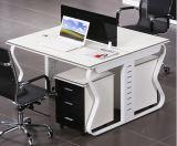 オフィスのParitionの中国のメラミンL形ワークステーション(HX-NCD101)