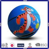 Esportes ao ar livre Basketball de borracha colorida para crianças