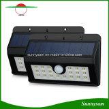 Luz solar nova do jardim de 20 diodos emissores de luz com o sensor de movimento de PIR e luz não ofuscante