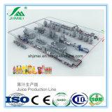 Cadena de producción de alta tecnología del zumo de fruta de la pequeña escala planta de tratamiento