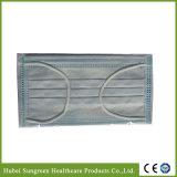 Maschera di protezione non tessuta blu con legare