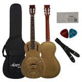 卸売価格型の鐘金属ボディパーラーのResophonicのギター