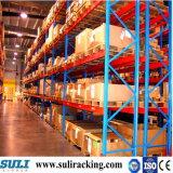 Estantes resistentes sólidos aprobados de la paleta del almacén del SGS