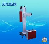 Machine neuve d'inscription de laser de fibre de vol d'arrivée pour les produits non métalliques