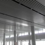 En forma de U de diseño de interiores de aluminio Suspened techo deflector