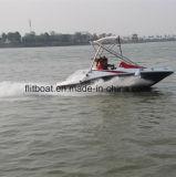 Barco de jet de fibra de vidrio de 16 pies