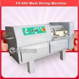 Машина высокоскоростного мяса Fx-550 Dicing, машина Ctting кубика свинины