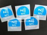 스티커가 도매 풀그릴 작은 RFID 지능적인 ID 카드 방수 NFC 칩에 의하여 표를 붙인다