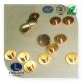Pontos de contato/pontas do rebite da liga de AG/Cu usadas no componente elétrico