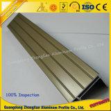 Electroforesis de aluminio del perfil de la protuberancia del OEM de la fábrica de aluminio