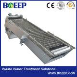 Pantalla de barra mecánica confirmada Ce de la depuradora de aguas residuales