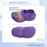 Bonito design bonito EVA Pink Garden Tamancos para crianças EVA Shoes in Slippers