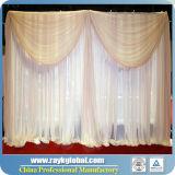 Hochzeits-Rohr und drapieren, justierbares Querwellen-Hintergrund-Rohr und drapieren