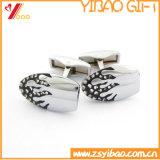 Clip di legame su ordinazione del metallo del gemello dei monili di Womans di marchio di alta qualità per il ricordo (YB-HD-06)