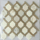 Jet de agua de piedra de la dimensión de una variable de hoja del mosaico