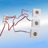 lumière carrée de galet de 1W 12V 24V DEL pour le Module