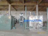 Planta de destilação de óleo de motor residual para DBO de óleo de base