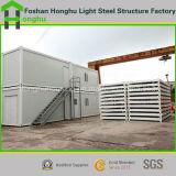 Конструкция дома контейнера самомоднейшей низкой стоимости модульная для кафа/гостиницы/туалета/магазина дома семьи