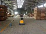 Weg hinter industrieller Fußboden-Reinigungs-Kehrmaschine-Maschine
