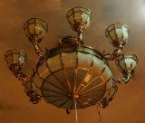 Lámpara pendiente superventas con cobre y vidrio