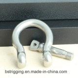 Тип сережки смычка нержавеющей стали европейский для подниматься оборудования