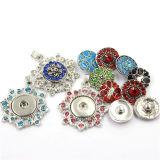 Способ очаровывая ожерелье чокеровщика кнопки сплава Jewellry