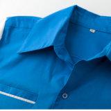 Het in het groot Overhemd van het Kegelen van de Kleur van de Jongens van de Leverancier van de Kleding Dubbele