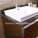 Governo del lato di vanità della stanza da bagno dell'acciaio inossidabile con i piedini