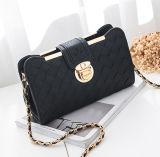 Novo estilo de tecelagem Crossbody Bag PU Women Clutch Bag